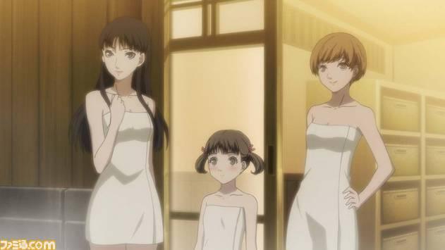 (left to right) Yukiko, Nanako, Chie