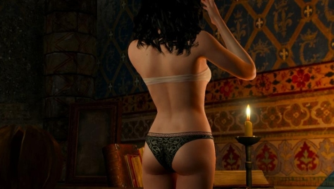 The best view of Yennefer