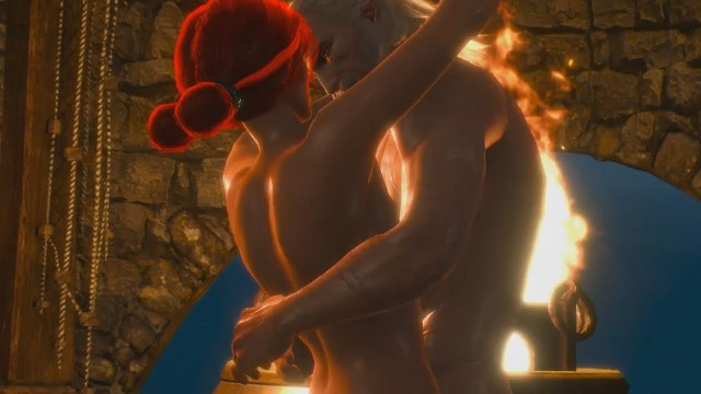 Sex scene with Triss