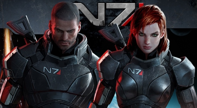 Default male/female Shepards - Mass Effect series