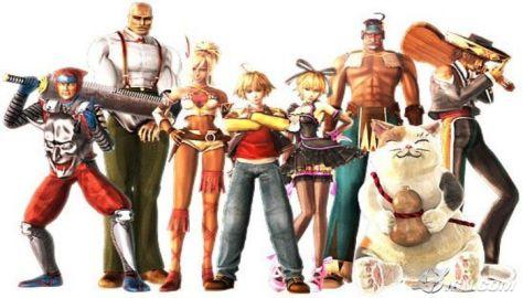 (left to right) Frank, Lenny, Shania, Johnny, Hilda, Natan, Mao, Ricardo