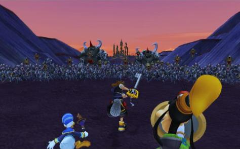 Battle of the 1000 Heartless - Kingdom Hearts II