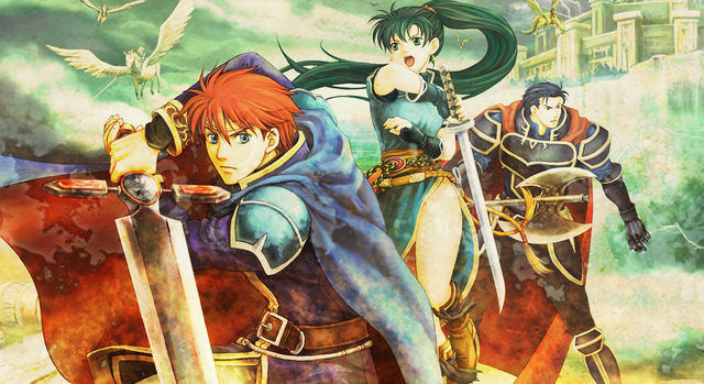 (left to right) Eliwood, Lyndis, Hector