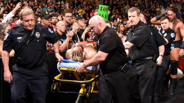 Enzo Amore Injury at Payback