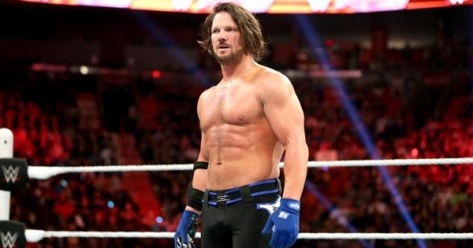 AJ Styles Minor Injury