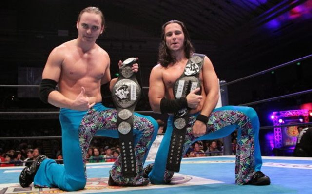 Young Bucks Out of BOSJ