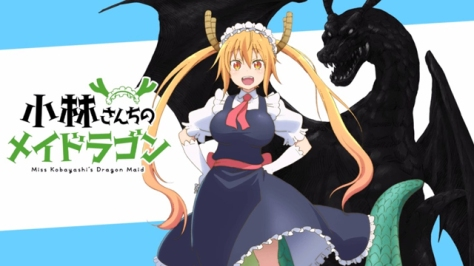 Kobayashi-san Chi no Maid Dragon (Ep.1)